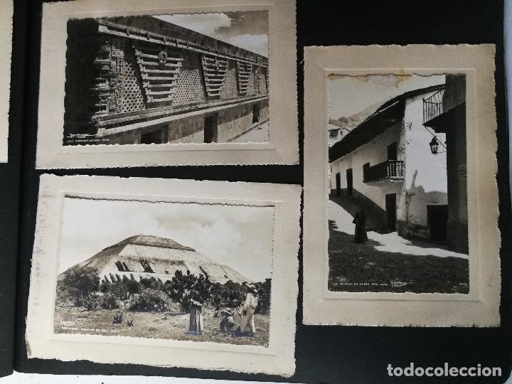 Postales: ANTIGUO Y PRECIOSO ALBUM DE FOTOGRAFIAS Y POSTALES DE MEXICO - AÑOS 40 - FOTOGRAFO POSTA MEX, YAÑEZ, - Foto 31 - 96480351