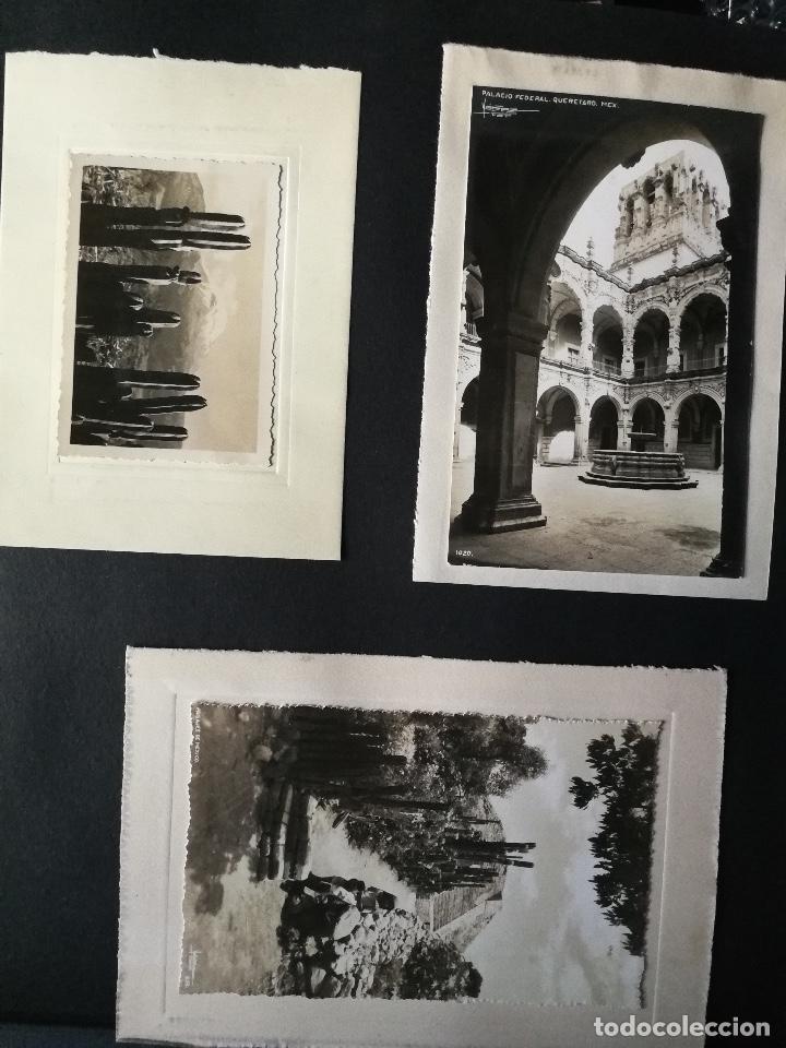 Postales: ANTIGUO Y PRECIOSO ALBUM DE FOTOGRAFIAS Y POSTALES DE MEXICO - AÑOS 40 - FOTOGRAFO POSTA MEX, YAÑEZ, - Foto 32 - 96480351