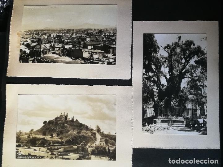 Postales: ANTIGUO Y PRECIOSO ALBUM DE FOTOGRAFIAS Y POSTALES DE MEXICO - AÑOS 40 - FOTOGRAFO POSTA MEX, YAÑEZ, - Foto 35 - 96480351
