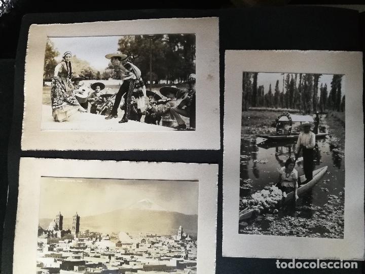 Postales: ANTIGUO Y PRECIOSO ALBUM DE FOTOGRAFIAS Y POSTALES DE MEXICO - AÑOS 40 - FOTOGRAFO POSTA MEX, YAÑEZ, - Foto 37 - 96480351