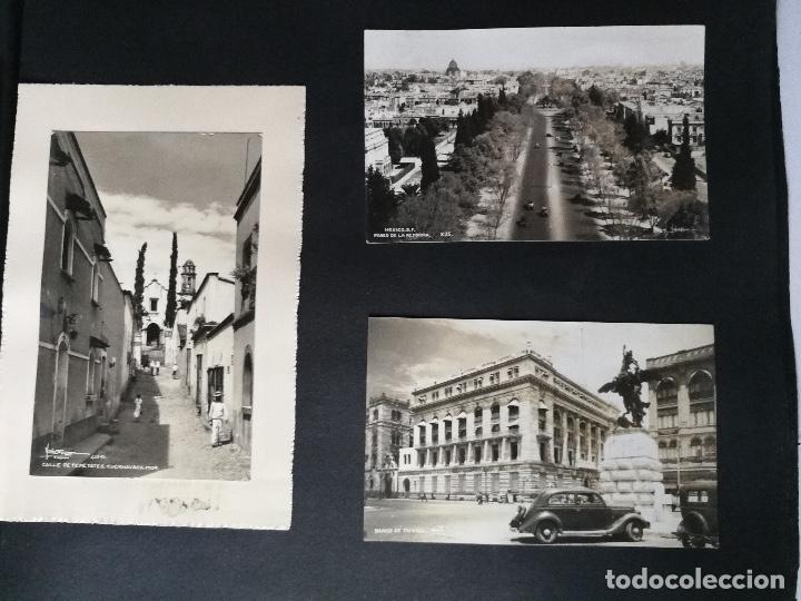 Postales: ANTIGUO Y PRECIOSO ALBUM DE FOTOGRAFIAS Y POSTALES DE MEXICO - AÑOS 40 - FOTOGRAFO POSTA MEX, YAÑEZ, - Foto 38 - 96480351