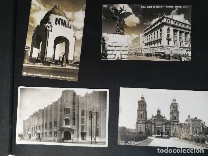 Postales: ANTIGUO Y PRECIOSO ALBUM DE FOTOGRAFIAS Y POSTALES DE MEXICO - AÑOS 40 - FOTOGRAFO POSTA MEX, YAÑEZ, - Foto 39 - 96480351