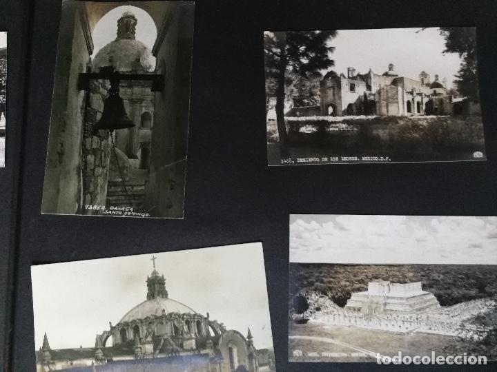Postales: ANTIGUO Y PRECIOSO ALBUM DE FOTOGRAFIAS Y POSTALES DE MEXICO - AÑOS 40 - FOTOGRAFO POSTA MEX, YAÑEZ, - Foto 41 - 96480351