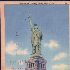 Postales: POSTAL ESTATUA LIBERTAD - CPA STATUE DE LA LIBERTE STATUE OF LIBERTY NEW YORK - CIRCULATED . Lote 97356703