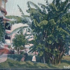 Cartes Postales: LOS ANGELES - BANANA PLANT , BELLEVUE TERRACE , PEARL ST. - 1908 - CARTE ANIMEE. Lote 97360395