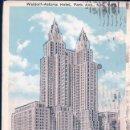 Postales: WALDORF-ASTORIA HOTEL, PARK AVENUE, NEW YORK CITY, NEW YORK. Lote 97576847