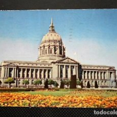 Postales: CITY HALL SAN FRANCISCO. CALIFORNIA. CIRCULADA. Lote 97773099