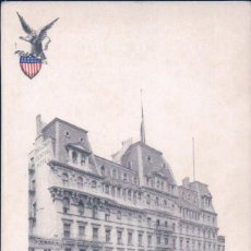 Postales: BROADWAY, CENTRAL HOTEL, NEW YORK - OLD POSTCARD. Lote 98106875