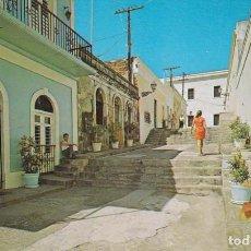 Postales: PUERTO RICO CALLEJON DEL HOSPITAL EL CONVENTO DE SAN JUAN POSTAL CIRCULADA . Lote 146015169