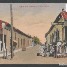Postales: CHILE - LA UNIÓN - CALLE DEL MERCADO - P22799. Lote 98207223