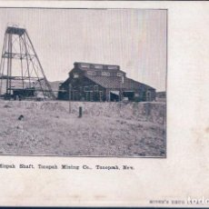 Postales: USA MIZPAH SHAFT , TONOPAH MINING CO. NEVADA , OLD POSTCARD - POSTAL MINA . Lote 98338983