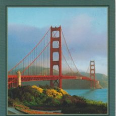 Postales: SAN FRANCISCO (ESTADOS UNIDOS) . GOLDEN GATE BRIDGE. Lote 98397607
