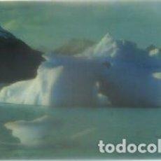 Postales: POSTAL DE ARGENTINA. SANTA CRUZ. TEMPANOS VESTIQUERO PERITO MORENO P-AMER-218 . Lote 98741335
