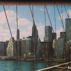 Postales: POSTAL NEW YORK CITY. MANHATTAN SKYLINE. TORRES GEMELAS. Lote 99140079