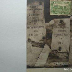 Postales: POSTAL REPUBLICA DOMINICANA-LAPIDAS ENCONTRARON RESTOS COLON- ESCRITA BB. Lote 99298323