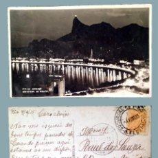 Postales: BRASIL - RIO DE JANEIRO - OLD POSTCARD - 1935. Lote 100110647
