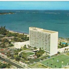 Postales: POSTAL DE PUERTO RICO. AMERICANA HOTEL. ISLA VERDE, SAN JUAN DE PUERTO RICO. Lote 100179975