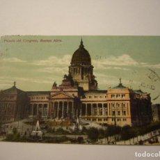 Postales: POSTAL PALACIO DEL CONGRESO BUENOS AIRES. Lote 100359675