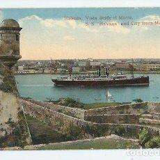 Postales: JOQ50- ANTIGUA POSTAL DE LA HABANA -CUBA - VISTA DESDE EL MORRO - EDIC. - JORDI -SIN CIRCULAR . Lote 100541843