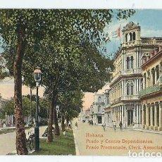 Postales: JOQ50- ANTIGUA POSTAL DE LA HABANA -CUBA - PRADO Y CENTRO - EDIC. - JORDI -SIN CIRCULAR . Lote 100541983