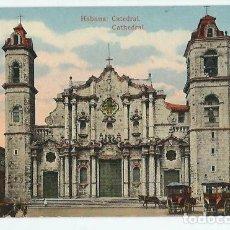 Postales: JOQ50- ANTIGUA POSTAL DE LA HABANA -CUBA - LA CATEDRAL - EDIC. - JORDI -SIN CIRCULAR . Lote 100542083