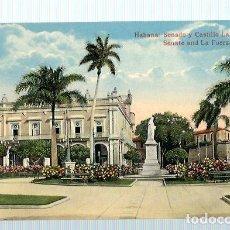 Postales: JOQ50- ANTIGUA POSTAL DE LA HABANA -CUBA - SENADO Y CASTILLO - EDIC. - JORDI -SIN CIRCULAR . Lote 100542571