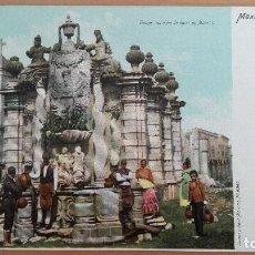 Postales: POSTAL MEJICO FUENTE DEL SALTO DE AGUA EN MEXICO EDIC LATAPI Y BERT REVERSO SIN DIVIDIR. Lote 100573279