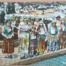 Postales: POSTAL Nº 606 FIESTA EN SANTA ANITA MEXICO D. F. MEJICO MUJERES MEJICANAS COLOR MUY ANIMADA . Lote 100573851