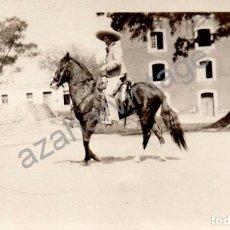 Postales: MEXICO, ANTIGUA POSTAL FOTOGRAFICA DE UN CHARRO MEXICANO. Lote 101404227