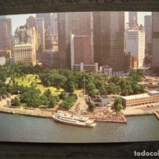 Postales: POSTAL - NEW YORK CITY - BATTERY PARK WITH LOWER NEW YORK SKYLINE IN BACKGROUND.. Lote 101825011