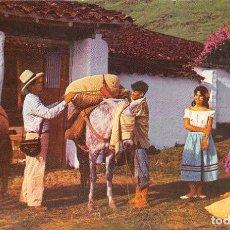Postales: FREDONIA (ANT).- COLOMBIA- EL CAFÉ EMPACADO SALE PARA LOS CENTROS EXPORTADORES DEL GRANO. Lote 103576263