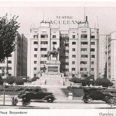 Postales: POSTAL FOTOGRAFICA SANTIAGO DE CHILE 1930 TEATRO PLAZA BOQUEDANO FOTO ED CURPHEY Y JOFRE LTDA. Lote 103699359