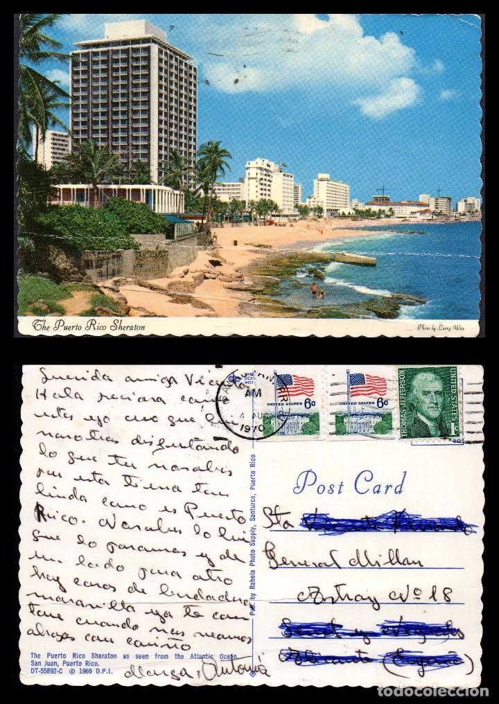 TARJETA POSTAL, SAN JUAN, PUERTO RICO. (Postales - Postales Extranjero - América)