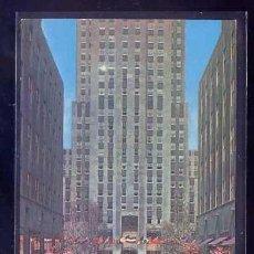 Postales: U.S.A. - NY CITY. *ROCKEFELLER CENTER...* CIRCULADA 1972, RODILLO ROJO.. Lote 105840731