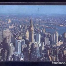 Postales: U.S.A. - NY CITY. *LOOKING NORTHEAST FROM EMPIRE STATE BUILDING...* CIRCULADA 1956.. Lote 105841395
