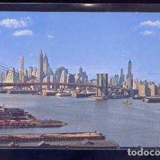 Postales: U.S.A. - NY CITY. *LOWER MANHATTAN SKYLINE...* CIRCULADA.. Lote 105843295