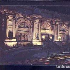 Postales: U.S.A. - NY CITY. *NIGHT VIEW THE METROPOLITAN MUSUEM OF ART...* ESCRITA.. Lote 105843591