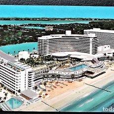 Postales: MIAMI BEACH (FLORIDA). HOTEL FONTAINEBLEAU. NUEVA. Lote 105882106