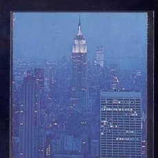 Postales: U.S.A. - NY CITY *EMPIRE STATE BUILDING AT NIGHT...* CIRCULADA 1960.. Lote 106218567