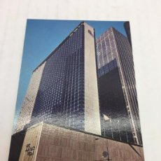 Postales: POSTAL SIN CIRCULAR DE NEW YORK - HILTON AT ROCKEFELLER CENTER. Lote 106908863