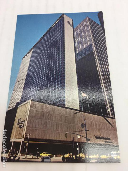 POSTAL SIN CIRCULAR DE NEW YORK - HILTON AT ROCKEFELLER CENTER (Postales - Postales Extranjero - América)