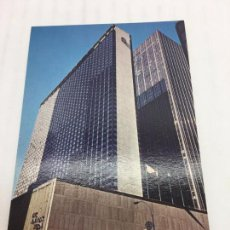 Postales: POSTAL SIN CIRCULAR DE NEW YORK - HILTON AT ROCKEFELLER CENTER. Lote 106908919