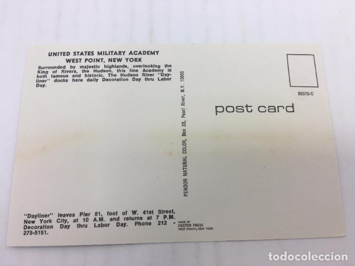 Postales: POSTAL SIN CIRCULAR DE NEW YORK - MILITARY ACADEMY WEST POINT - Foto 2 - 106933607