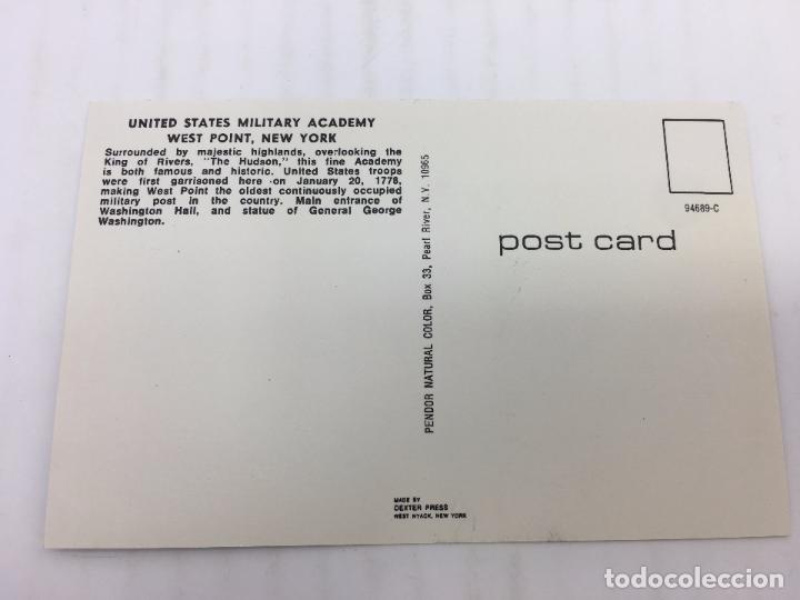 Postales: POSTAL SIN CIRCULAR DE NEW YORK - UNITED STATES MILITARY ACADEMY, WEST POINT, N.Y. - Foto 2 - 106934595