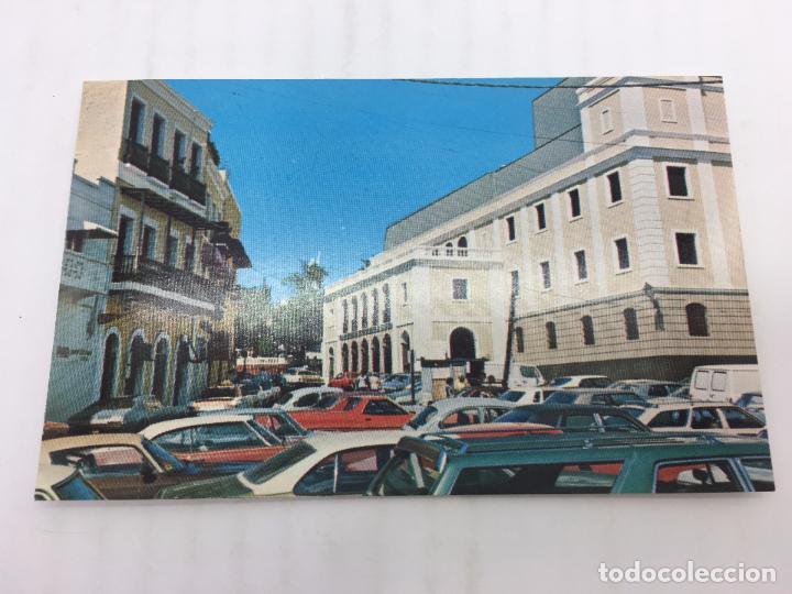 POSTAL SIN CIRCULAR DE SAN JUAN DE PUERTO RICO - VISTA LATERAL DEL TEATRO (Postales - Postales Extranjero - América)
