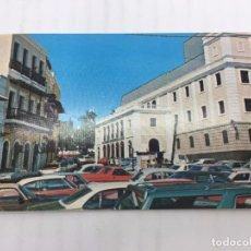 Postales: POSTAL SIN CIRCULAR DE SAN JUAN DE PUERTO RICO - VISTA LATERAL DEL TEATRO. Lote 106936063