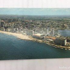 Postales: POSTAL SIN CIRCULAR DE SAN JUAN DE PUERTO RICO - VISTA GENERAL DEL SECTOR HOTELERO. Lote 106936283