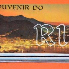 Postales: ACORDEÓN FOTOGRAFÍAS/POSTALES RIO DE JANEIRO. BRASIL. SOUVENIR. AÑOS 70. Lote 107818587