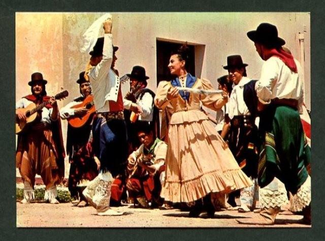 argentina. *bailes típicos argentinos. zamba* e - Comprar Postales antiguas de América en todocoleccion - 11063420