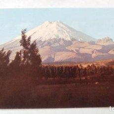 Postales: POSTAL ECUADOR SUD AMERICA, EL COTOPAXI. POST CARD. Lote 108885695